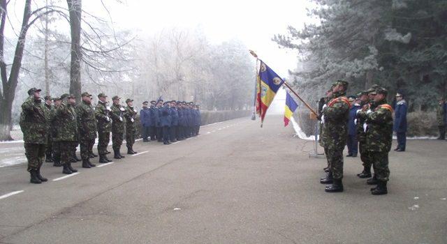 Depunere jurământ militar